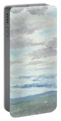Dagrar Over Salenfjallen- Shifting Daylight Over Distant Horizon 9 Of 10_0029 Portable Battery Charger