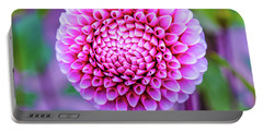 Portable Battery Charger featuring the photograph Dahlia by Zaira Dzhaubaeva