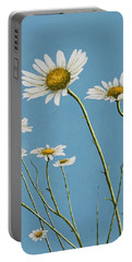 Daisies In The Wind Portable Battery Charger