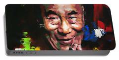 Dalai Lama Portable Battery Charger