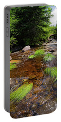 Portable Battery Charger featuring the photograph Dallas Plantation Near Rangeley, Maine   -63308-63310 by John Bald