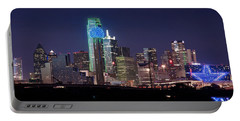 Dallas Skyline Cowboys Portable Battery Charger