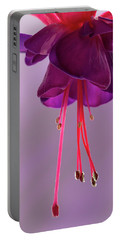 Dance Of The Fuschia Portable Battery Charger