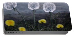 Dandelion Family Portable Battery Charger