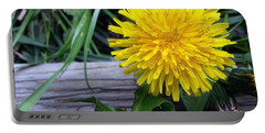 Portable Battery Charger featuring the photograph Dandelion by Robert Knight