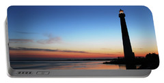 Dawn At Barnegat Light Portable Battery Charger