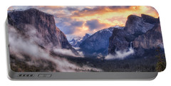 Daybreak Over Yosemite Portable Battery Charger