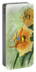 Daylily #2 Portable Battery Charger