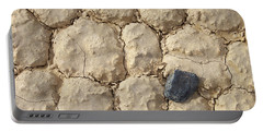 Portable Battery Charger featuring the photograph Death Valley Mud by Breck Bartholomew