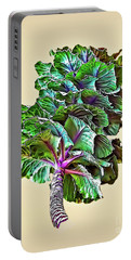 Portable Battery Charger featuring the photograph Decorative Cabbage by Walt Foegelle