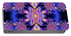 Portable Battery Charger featuring the digital art Deep Heart by Ian Mitchell