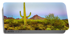 Desert Beauty Portable Battery Charger by Barbara Manis