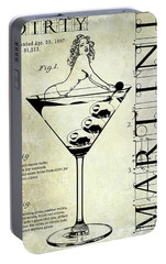 Dirty Martini Patent Portable Battery Charger by Jon Neidert
