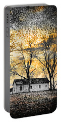 Portable Battery Charger featuring the photograph Distant Memories by Jan Amiss Photography