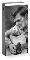Doc Watson Portable Battery Charger by Greg Joens