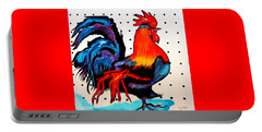 Doodle Do Rooster Portable Battery Charger