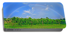 Double Rainbow Vineyard, Smith Mountain Lake Portable Battery Charger