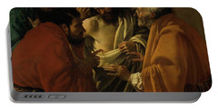 Doubting Thomas Portable Battery Charger