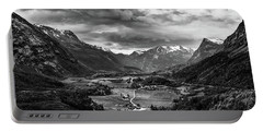 Portable Battery Charger featuring the photograph Down In The Valley by Dmytro Korol