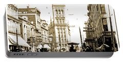 Downtown Milwaukee, C. 1915-1920, Vintage Photograph Portable Battery Charger