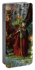 Dragon Queen Portable Battery Charger
