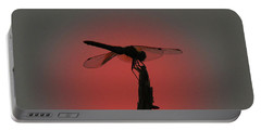 Dragonfly Sunset Portable Battery Charger