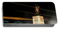 Drake's Statue Traffic Trails Iv Portable Battery Charger
