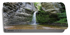 Eagle Cliff Falls In Ny Portable Battery Charger