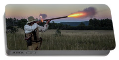 Early 1800's Flintlock Muzzleloader Blast Portable Battery Charger