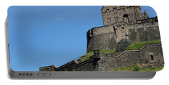 Portable Battery Charger featuring the photograph Edinburgh Castle by Jeremy Lavender Photography