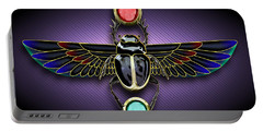 Egyptian Scarab Beetle Portable Battery Charger