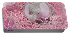 Elephant For Charity Pink Portable Battery Charger