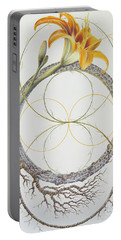 Energy Of The Tigerlily Portable Battery Charger
