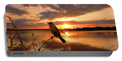 Enjoying The Sunset Portable Battery Charger