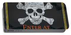 Enter At Your Own Risk  Portable Battery Charger