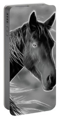 Equine  Portable Battery Charger by Steve McKinzie