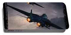 F-14 Flying Iron Portable Battery Charger