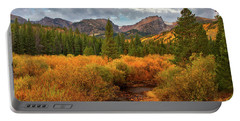 Fall In Rocky Mountain National Park Portable Battery Charger by Ronda Kimbrow