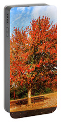 Fall Time Portable Battery Charger