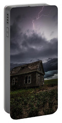 Portable Battery Charger featuring the photograph Fear by Aaron J Groen