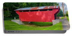 Feedwire Covered Bridge - Carillon Park Dayton Ohio Portable Battery Charger
