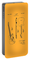 Fender 1951 Electric Guitar Patent Art - B  Portable Battery Charger