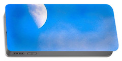 Finally Some #bluesky And The #moon Portable Battery Charger by Austin Tuxedo Cat