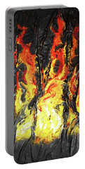 Fire Too Portable Battery Charger by Angela Stout