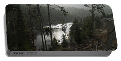 Firehole River In Yellowstone Portable Battery Charger