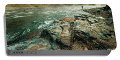 Portable Battery Charger featuring the photograph Fishing Day by Iris Greenwell