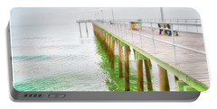 Fishing Pier, Margate, New Jersey Portable Battery Charger