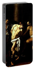 Flagellation Of Christ Portable Battery Charger