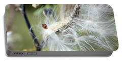 Flight Of The Milkweed Portable Battery Charger