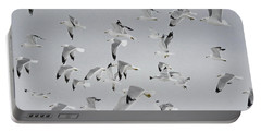 Flock Of Birds  Portable Battery Charger by Andrea Kollo